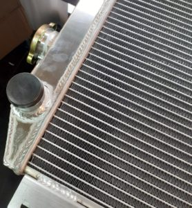ford aluminium radiator