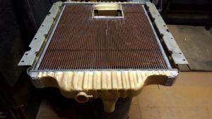 copper and brass radiator recore