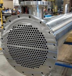 shell and tube heat exchange